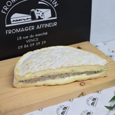 Brie truffé (préparation fromagère)