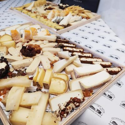 Plateau de fromages apéritifs
